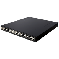 AS5812-54X   48 x 10GbE ports and 6 x 40GbE uplinks.