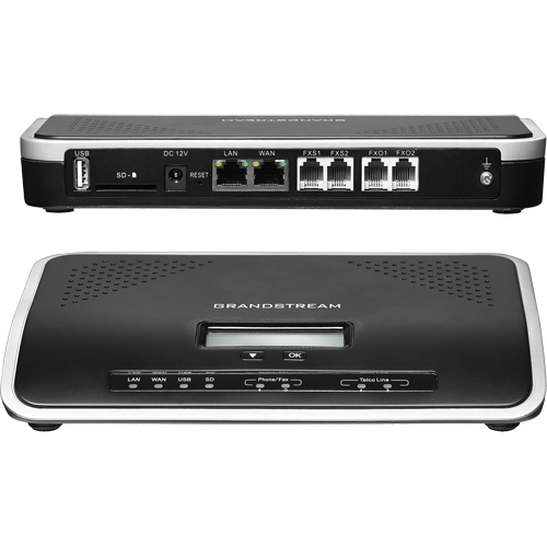 Grandstream UCM6202 500 Users 30 Concurrent Calls IP-PBX